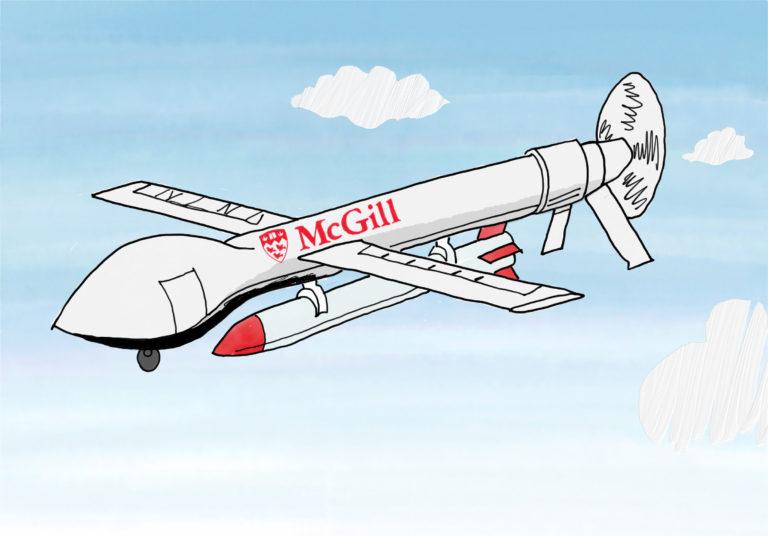 McGill dans le commerce militaire mondial
