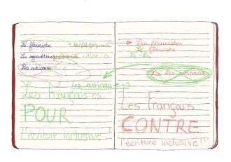 Agora étudiante: pour ou contre l'écriture inclusive?