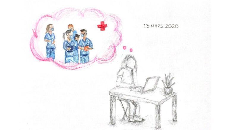 Aux premières loges face à la pandémie, la Faculté de sciences infirmières s'organise