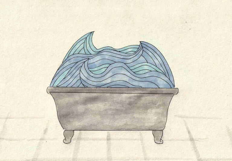 Un bain